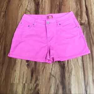 Levi's Jeans For Girls Hot Pink Shorts